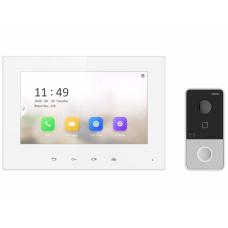 Комплект IP видеодомофона HiWatch DS-D100IKF