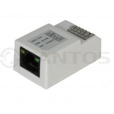 Адаптер для подключения мониторов к этажному коммутатору Tantos TS-NC