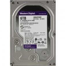 Жесткий диск HDD Western Digital WD Purple WD62PURZ 6000 Гб