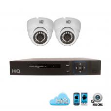 Комплект на 2 AHD FullHD камеры и Регистратор