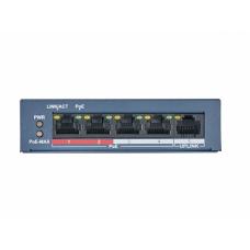 PoE Коммутатор HiWatch DS-S504P(B)