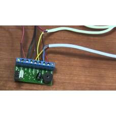 Демонтаж контроллера карт доступа
