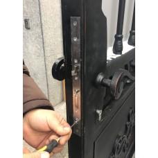 Демонтаж электромеханического замка