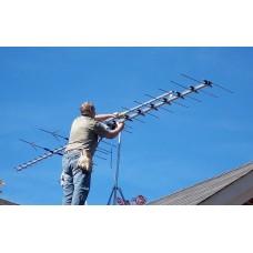 Демонтаж эфирной антенны DVB-T2