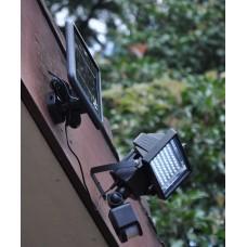 Монтаж прожектора с датчиком движения